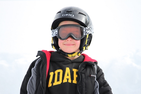 The helmet and goggles never fit quite right