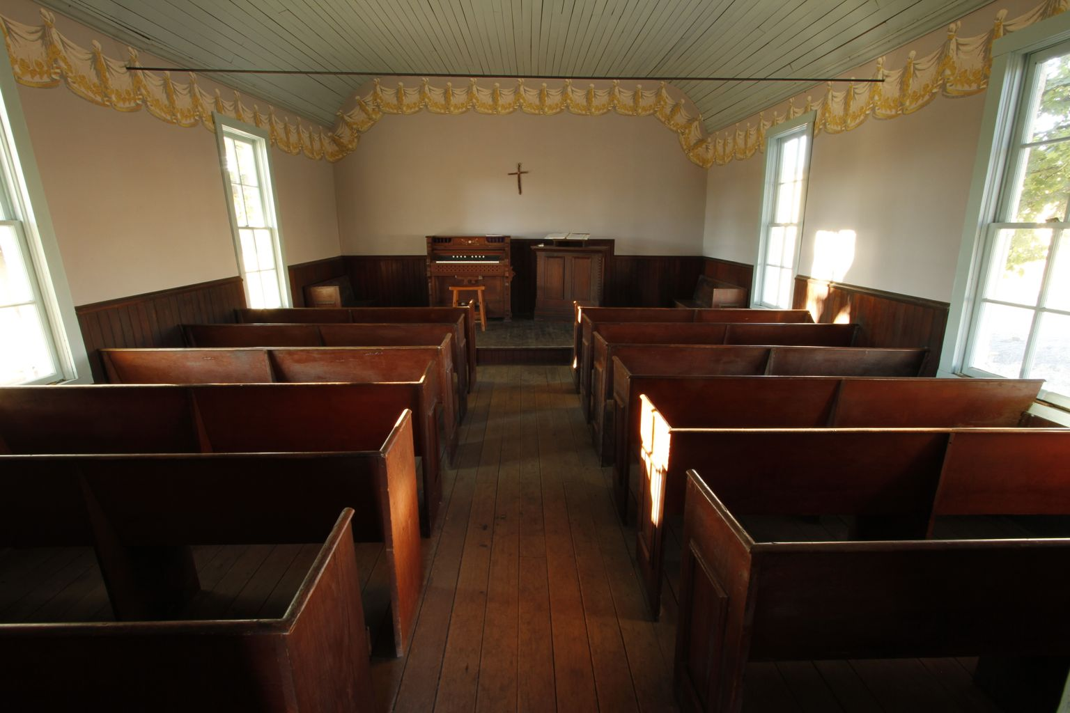 the mcwessels september 2012 archives On small church interior design ideas